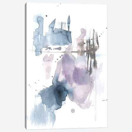 Violet & Paynes Splash II Canvas Print #JGO710} by Jennifer Goldberger Canvas Art Print