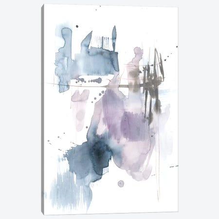Violet & Paynes Splash II Canvas Print #JGO710} by Jennifer Goldberger Canvas Art Print