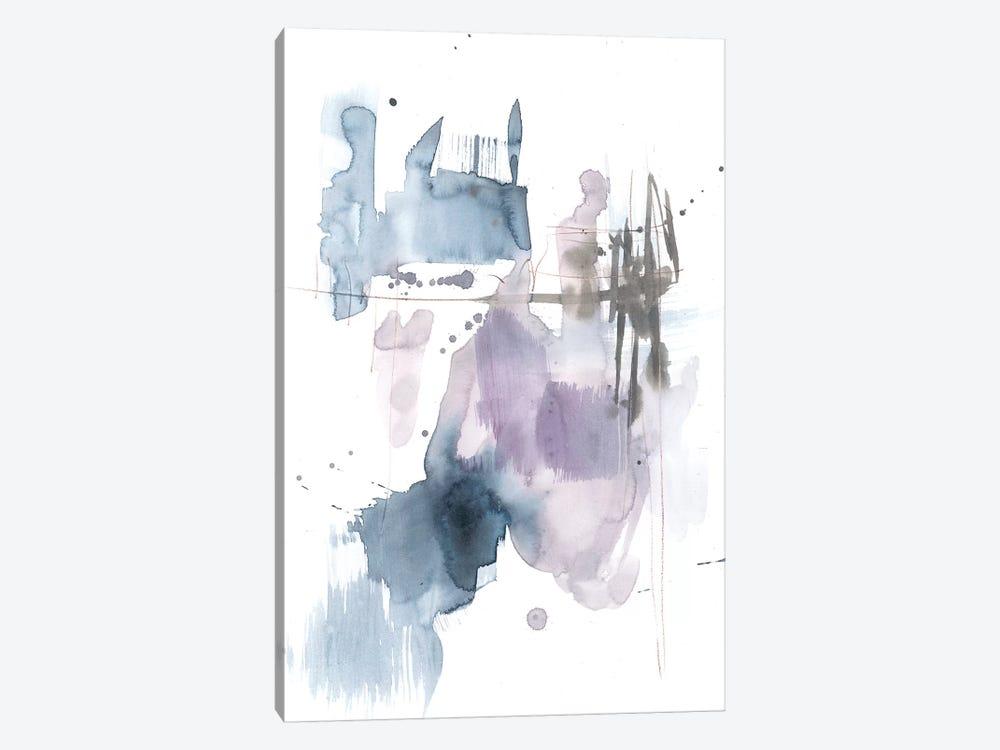 Violet & Paynes Splash II by Jennifer Goldberger 1-piece Canvas Wall Art