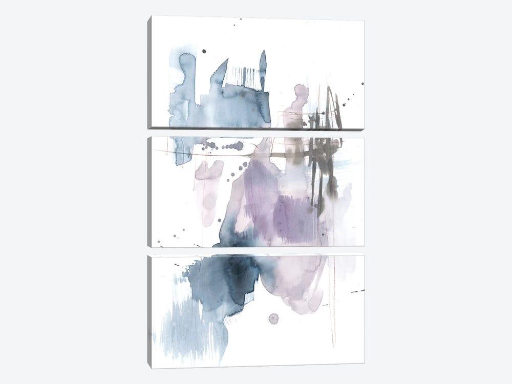 Violet & Paynes Splash II by Jennifer Goldberger 3-piece Canvas Wall Art