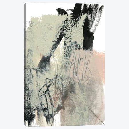 Blush & Black II Canvas Print #JGO721} by Jennifer Goldberger Canvas Wall Art