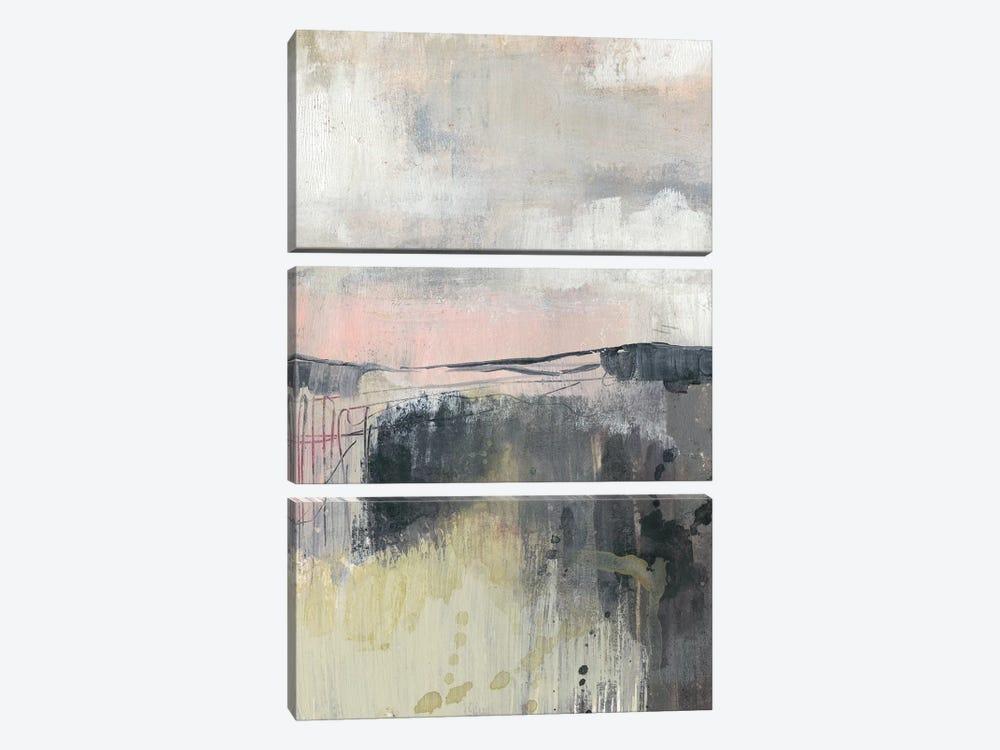 Blush Horizon I by Jennifer Goldberger 3-piece Art Print