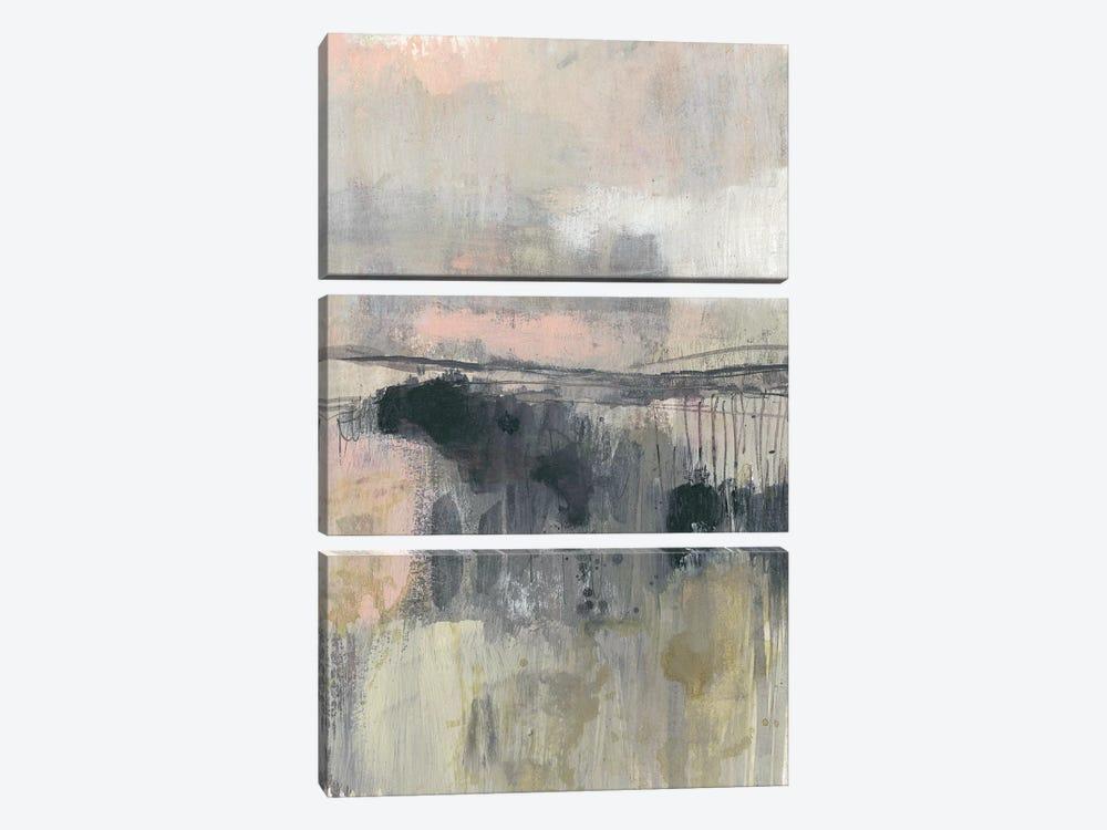 Blush Horizon II by Jennifer Goldberger 3-piece Canvas Wall Art