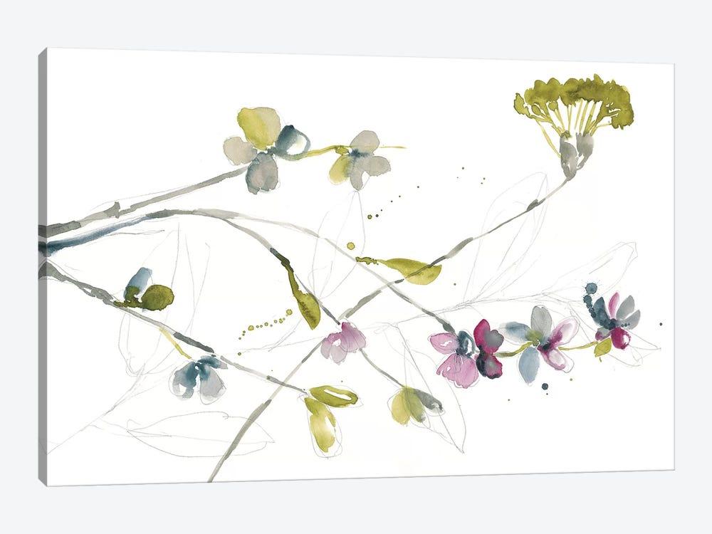 Branches & Blossoms I by Jennifer Goldberger 1-piece Canvas Print