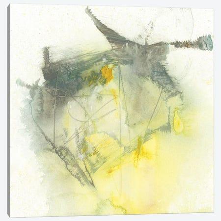Citron Twist I Canvas Print #JGO730} by Jennifer Goldberger Canvas Print