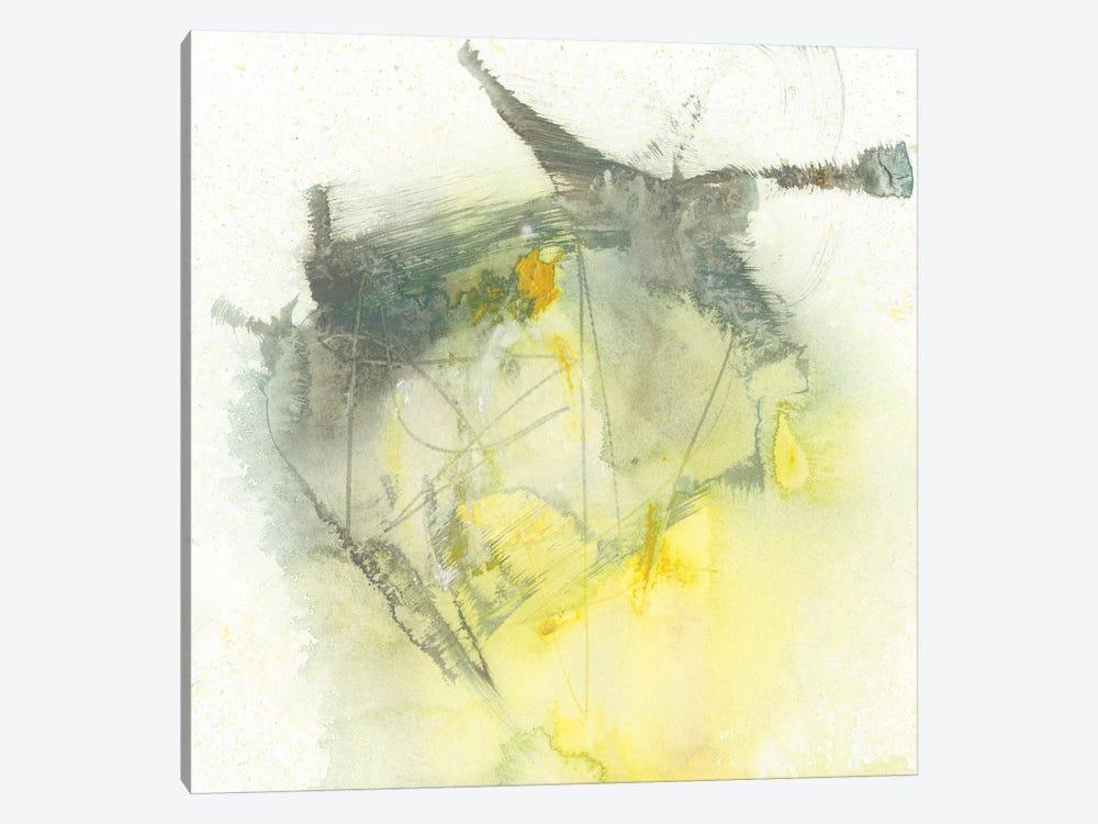 Citron Twist I by Jennifer Goldberger 1-piece Canvas Wall Art