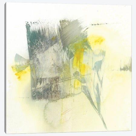 Citron Twist II Canvas Print #JGO731} by Jennifer Goldberger Canvas Art Print