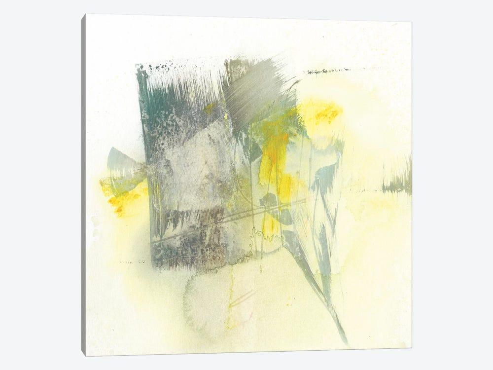 Citron Twist II by Jennifer Goldberger 1-piece Canvas Print