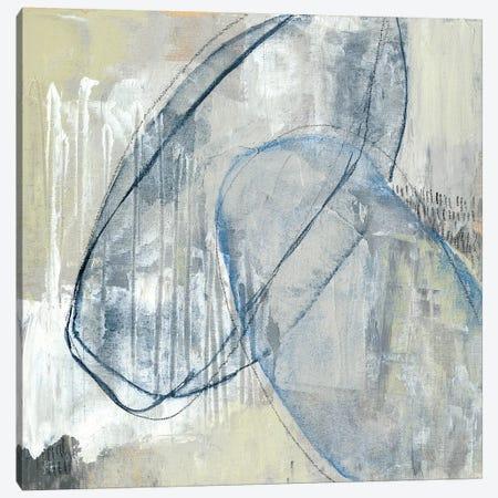 Cool Neutral Loops I Canvas Print #JGO740} by Jennifer Goldberger Canvas Art