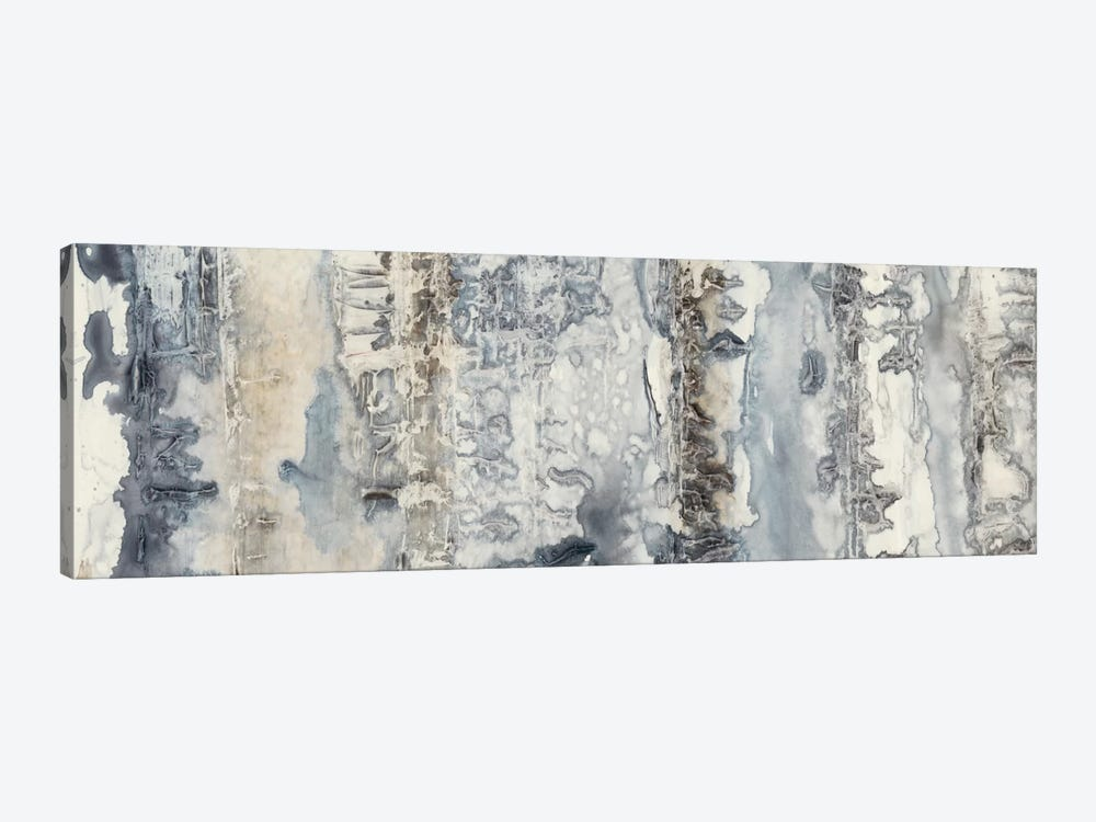 Neutral Strata I by Jennifer Goldberger 1-piece Canvas Artwork