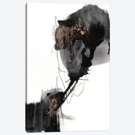 Ebony Step I Canvas Print #JGO753} by Jennifer Goldberger Art Print