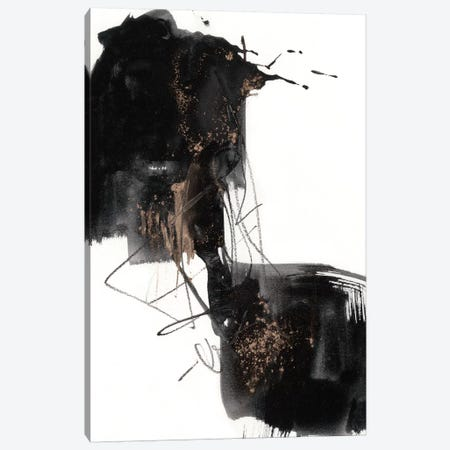 Ebony Step II Canvas Print #JGO754} by Jennifer Goldberger Canvas Art