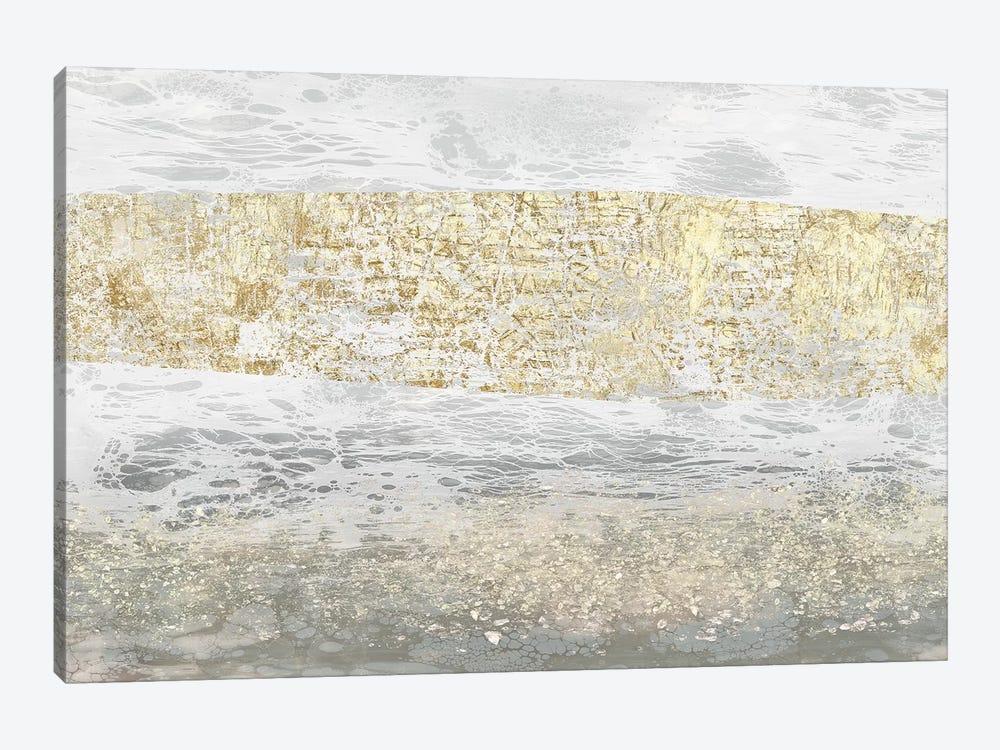Gilded Textures I by Jennifer Goldberger 1-piece Art Print