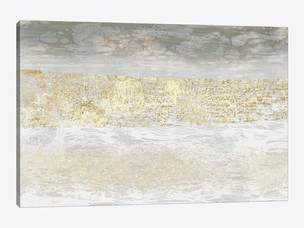 Gilded Textures II 1-piece Canvas Wall Art