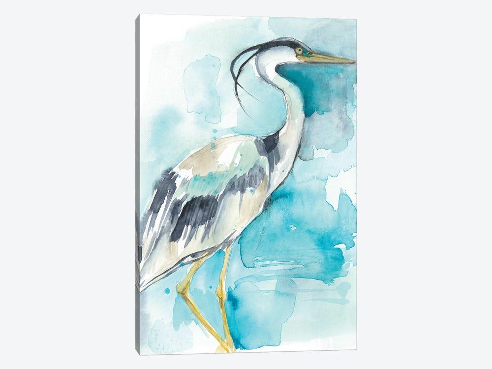 Heron Splash I by Jennifer Goldberger 1-piece Canvas Art Print