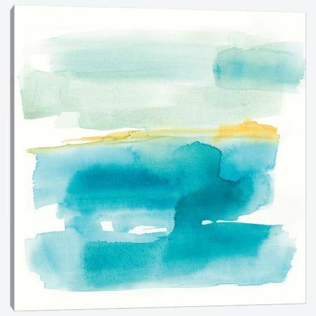 Liquid Horizon I Canvas Print #JGO761} by Jennifer Goldberger Canvas Artwork