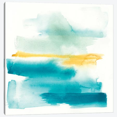 Liquid Horizon II 3-Piece Canvas #JGO762} by Jennifer Goldberger Canvas Wall Art