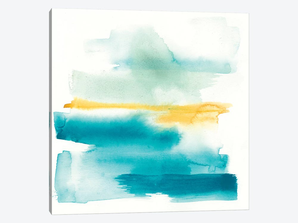 Liquid Horizon II by Jennifer Goldberger 1-piece Canvas Art Print