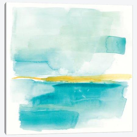 Liquid Horizon III 3-Piece Canvas #JGO763} by Jennifer Goldberger Canvas Artwork
