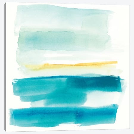 Liquid Horizon V 3-Piece Canvas #JGO765} by Jennifer Goldberger Art Print