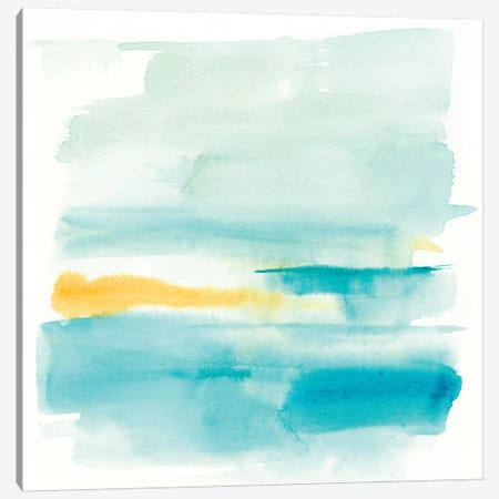 Liquid Horizon VI Canvas Print #JGO766} by Jennifer Goldberger Art Print