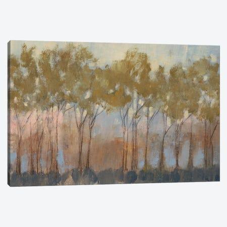 Ochre Treeline I Canvas Print #JGO76} by Jennifer Goldberger Canvas Art