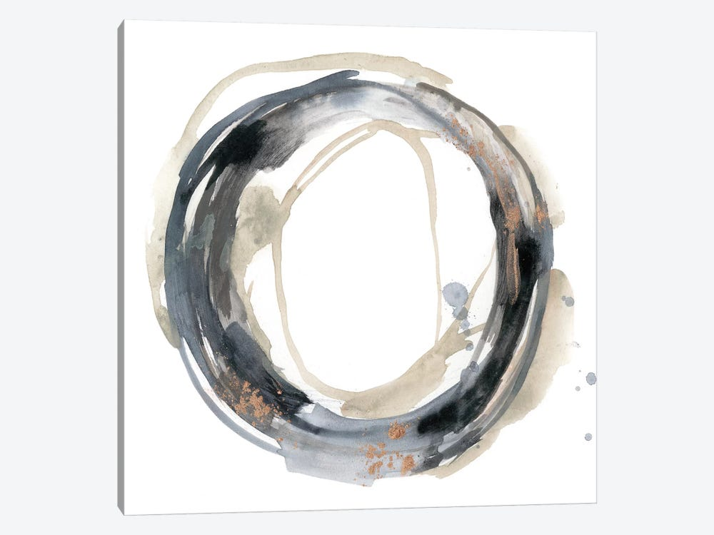 Neutral Revolution I by Jennifer Goldberger 1-piece Canvas Print