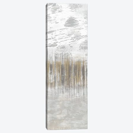 Neutral Staggered Lines I Canvas Print #JGO775} by Jennifer Goldberger Canvas Art