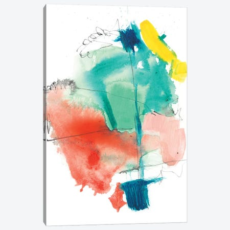 Paper Flags I Canvas Print #JGO779} by Jennifer Goldberger Canvas Print