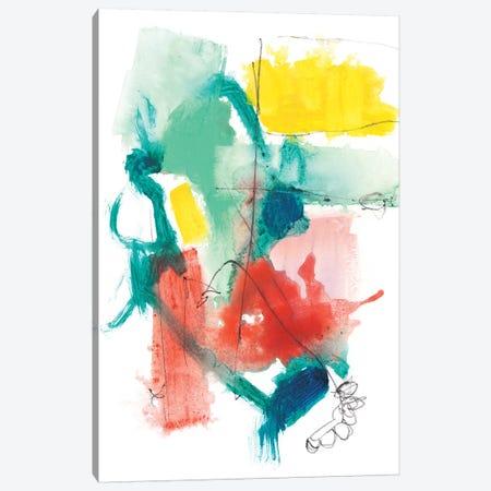 Paper Flags II Canvas Print #JGO780} by Jennifer Goldberger Canvas Wall Art