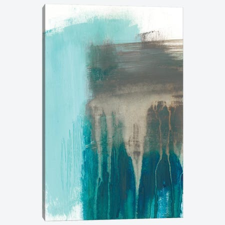 Serenity Falls I Canvas Print #JGO795} by Jennifer Goldberger Canvas Artwork