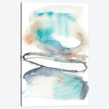 Spiral Bloom I 3-Piece Canvas #JGO803} by Jennifer Goldberger Canvas Art Print