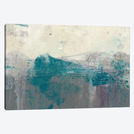Teal Range II Canvas Print #JGO806} by Jennifer Goldberger Canvas Wall Art