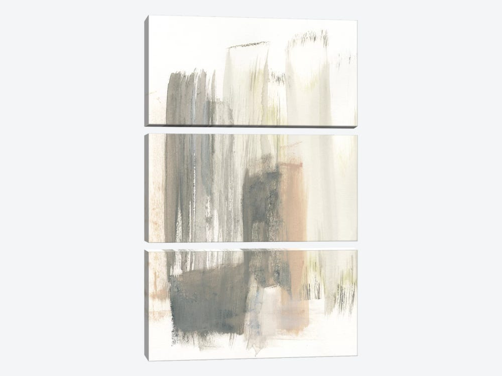 A Touch of Pastel II by Jennifer Goldberger 3-piece Canvas Wall Art