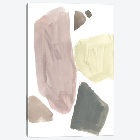 Muted Mod Shapes III Canvas Print #JGO829} by Jennifer Goldberger Canvas Print