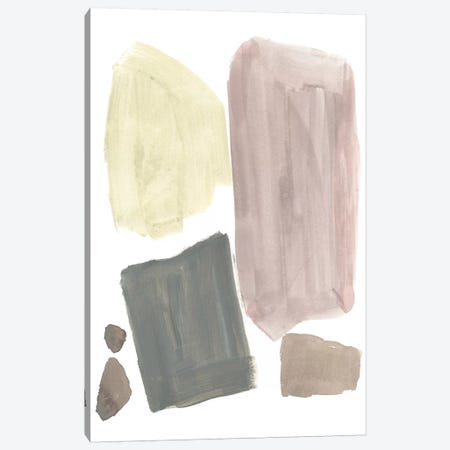 Muted Mod Shapes IV Canvas Print #JGO830} by Jennifer Goldberger Canvas Artwork