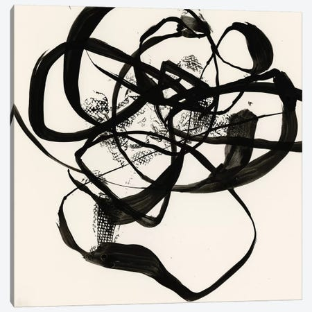 Sumi-E Abstract I Canvas Print #JGO835} by Jennifer Goldberger Art Print