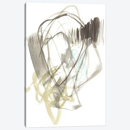 A Touch of Mint I Canvas Print #JGO839} by Jennifer Goldberger Canvas Art