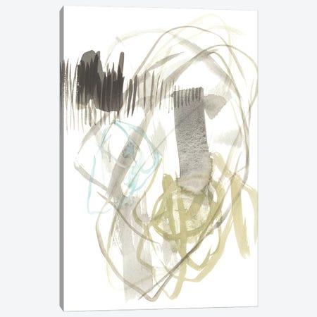 A Touch of Mint II Canvas Print #JGO840} by Jennifer Goldberger Canvas Art Print