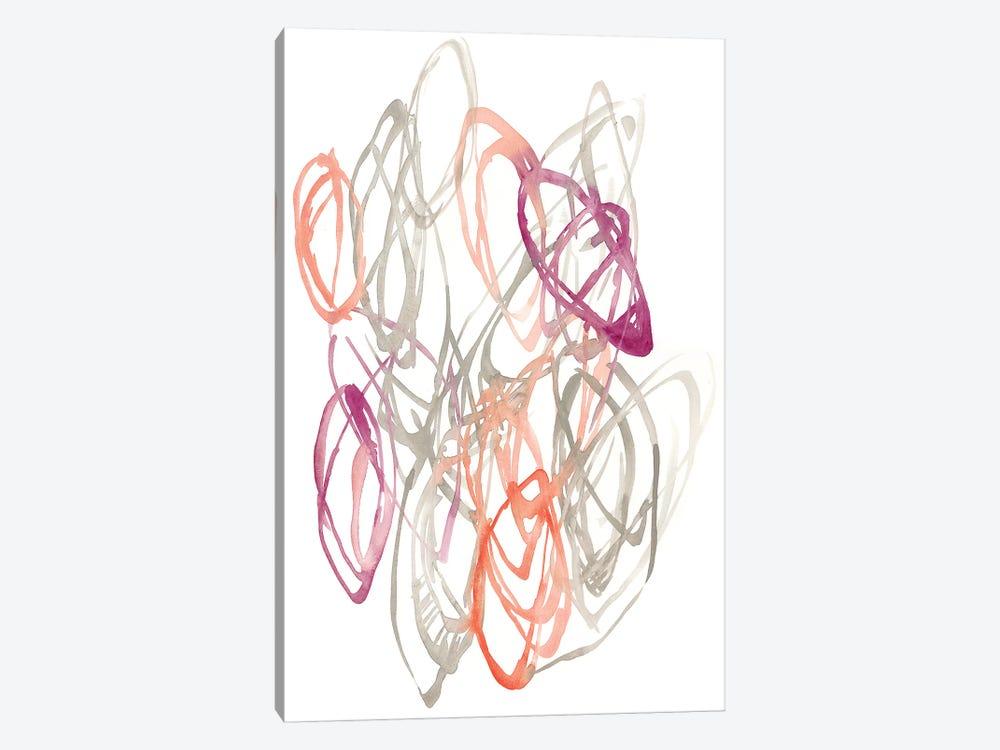 Connected Orbits I by Jennifer Goldberger 1-piece Canvas Art