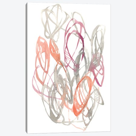 Connected Orbits II Canvas Print #JGO842} by Jennifer Goldberger Art Print