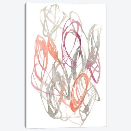Connected Orbits II Canvas Print #JGO842} by Jennifer Goldberger Art Print