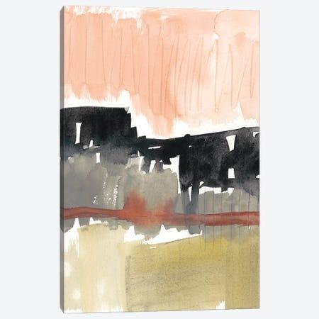 Crimson on the Horizon I Canvas Print #JGO843} by Jennifer Goldberger Canvas Print