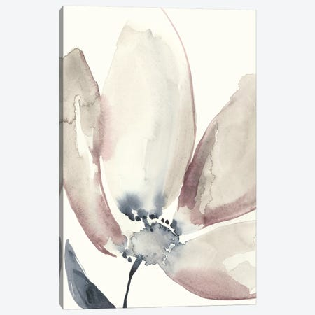 Fluid Petals I Canvas Print #JGO855} by Jennifer Goldberger Canvas Art Print