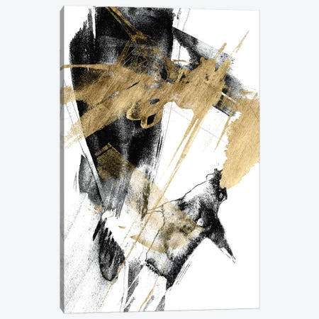 Glam & Black I Canvas Print #JGO859} by Jennifer Goldberger Canvas Wall Art
