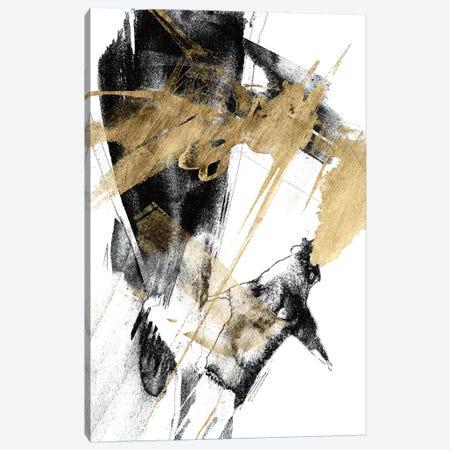 Glam & Black I Canvas Print #JGO859} by Jennifer Goldberger Canvas Wall Art