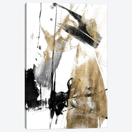 Glam & Black II Canvas Print #JGO860} by Jennifer Goldberger Canvas Print