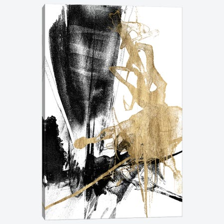 Glam & Black IV Canvas Print #JGO862} by Jennifer Goldberger Canvas Art Print