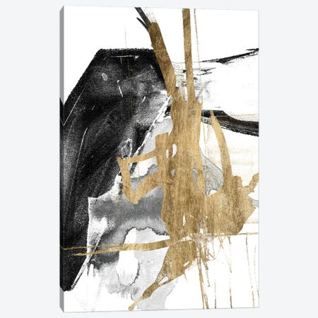 Glam & Black V Canvas Print #JGO863} by Jennifer Goldberger Canvas Print