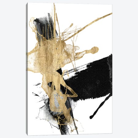 Glam & Black VI Canvas Print #JGO864} by Jennifer Goldberger Canvas Wall Art